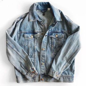 H&M denim jacket.